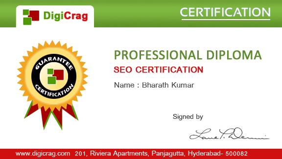 Certifications Program Hyderabad